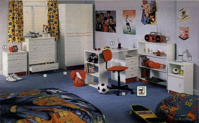 The 80s 90s Bedroom A Style Guide World Of Crap