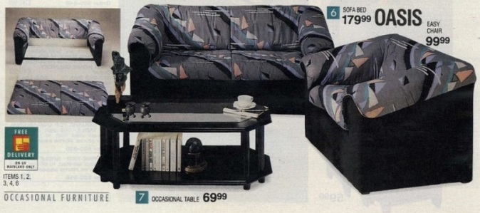 horrible settee