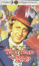 Willy Wonka And The Chocolate Factory Vhs 12 videos I own...