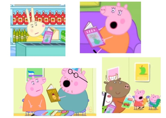 The various mental stages of an 18 hour Peppa Pig marathon – World