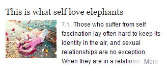 self love elephants