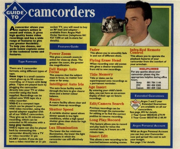 p 452 guide to camcorders
