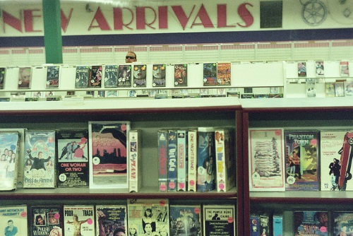 Cartoons, haunted tapes and The Lovers' Guide: Video shopmemories
