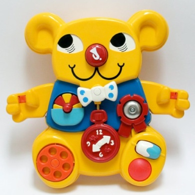 matchbox activity bear