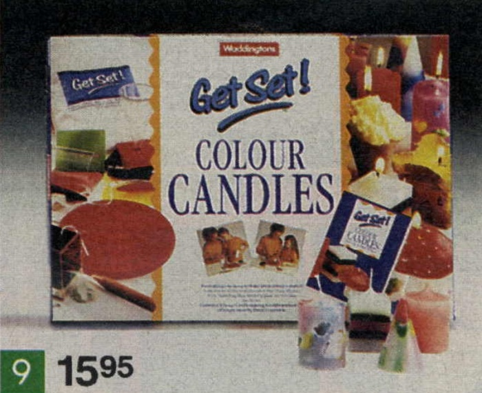 get set colour candles