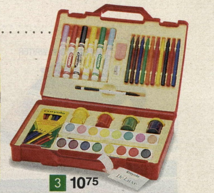 z crayola deluxe art set