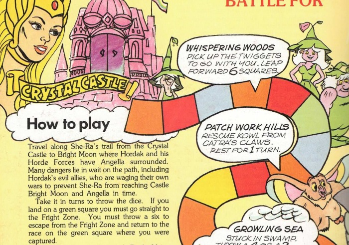 Save the thing! – crappy board games in annuals