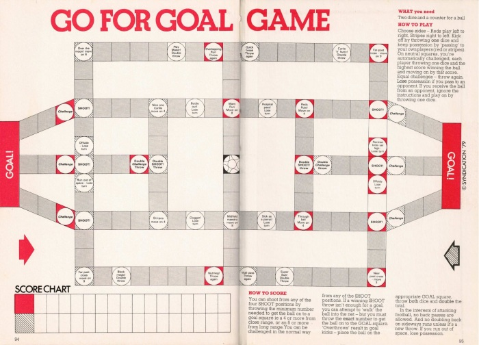 go for goal game