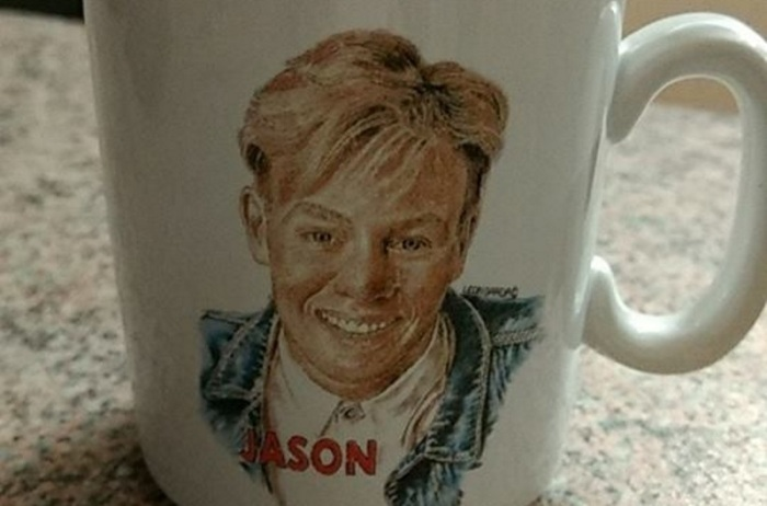 Crap Cups part 2: The Pope and Jason Donovan