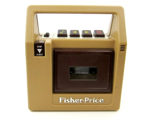 Fisher-price-tape-recorder-cassette-player