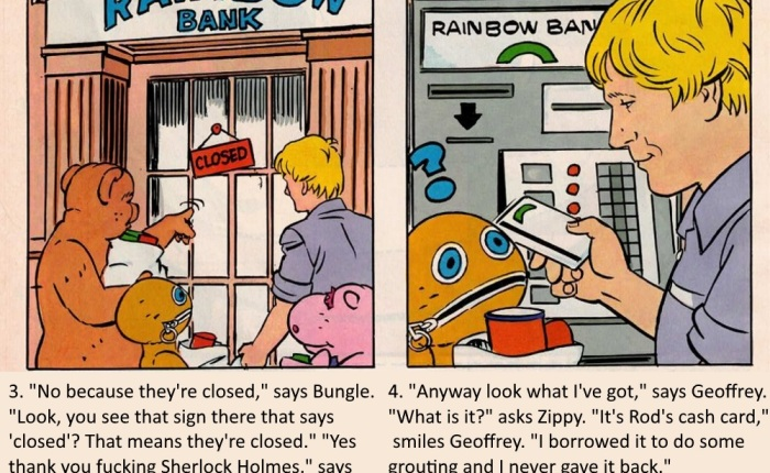 Rainbow Comic: Cash Card Capers