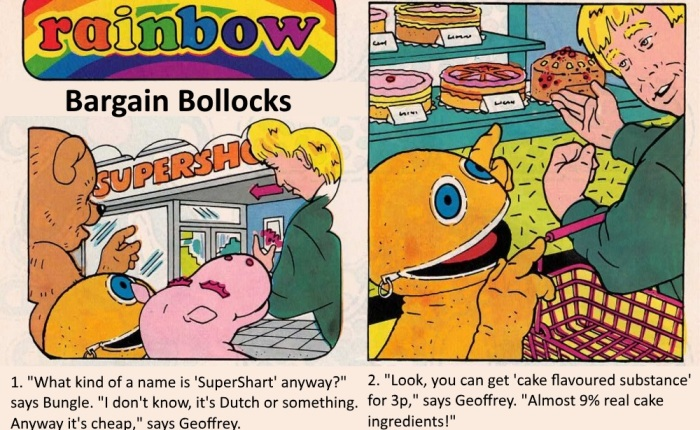 Rainbow Comic: Bargain Bollocks