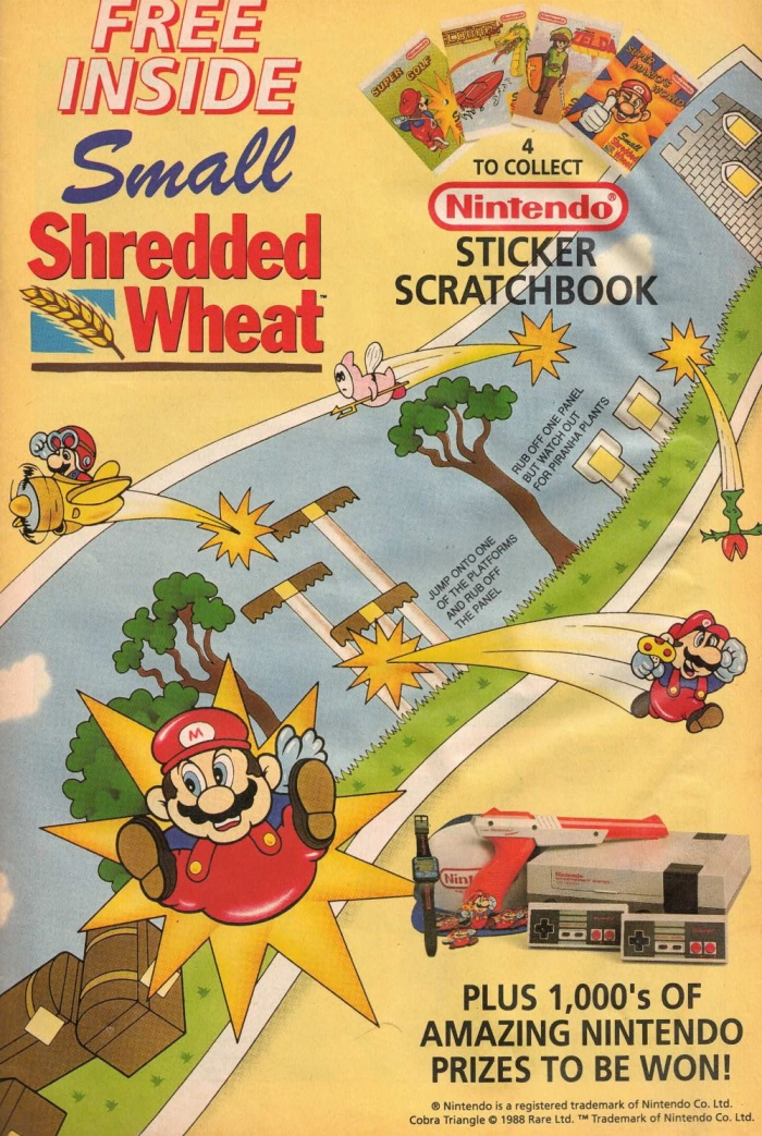shredded wheat mario