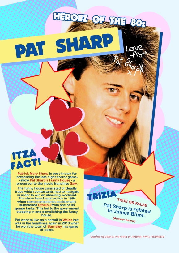 World of Crap pat sharp page