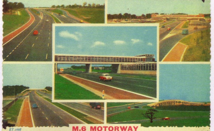 Greetings From The M6: Shit Postcards