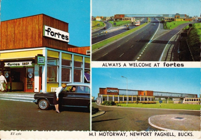 newport pagnell services